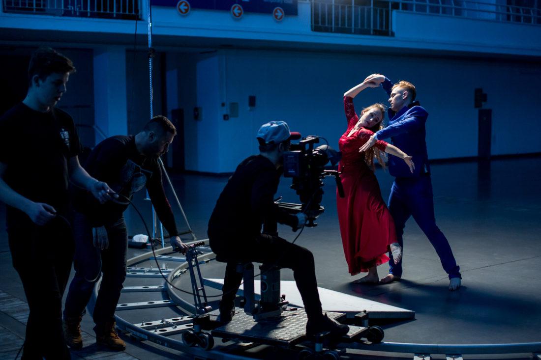 Plan filmowy - tancerze