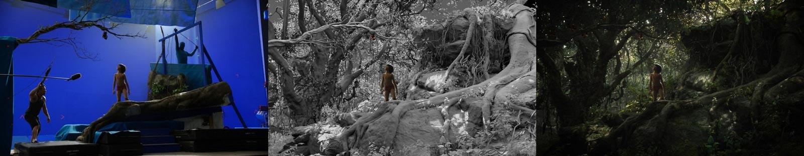 efekty specjalne Księga Dżungli