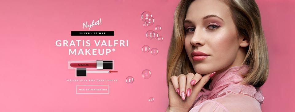 Semilac - makeup