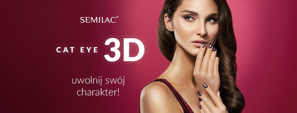 Semilac - cat eye 3D